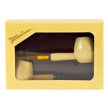 Набор трубок Missouri Meerschaum Maple Hardwood Diplomat Gift Set